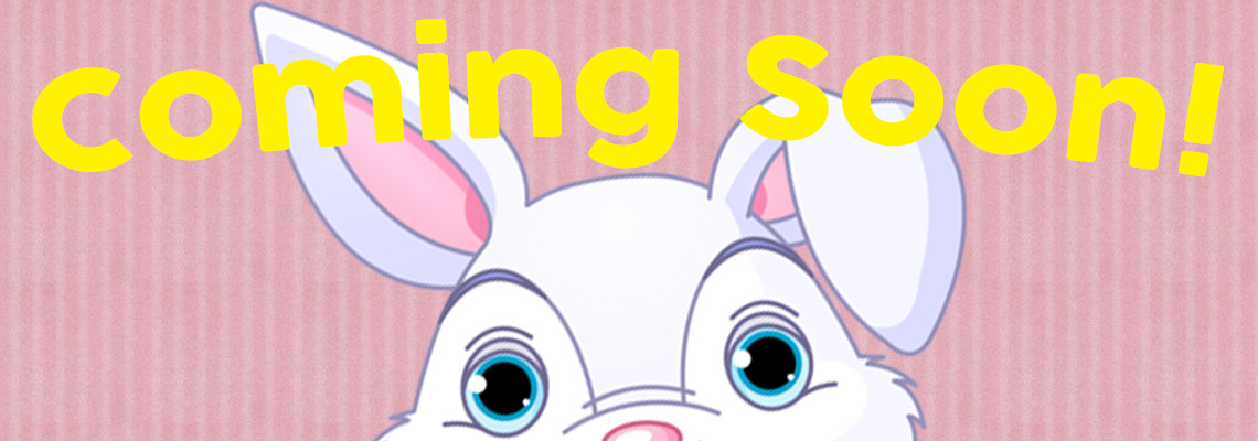 The Easter Bunny is coming SOON!